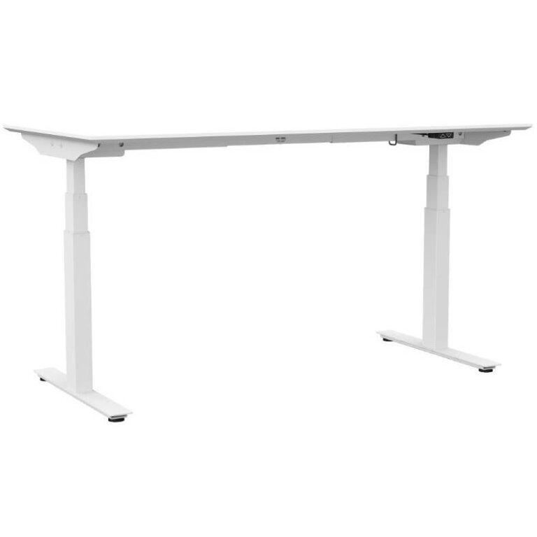 Het gebruik van een zit sta bureau